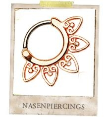 Nasenpiercing/Septumpiercing