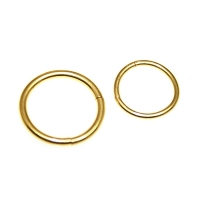 Goldener Segment Ring 1,2mm