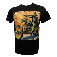 LowBrow Mike Bell Mens Eerie Rider Tee