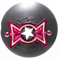 Nippelpiercing pink metallic Candy Bonbon