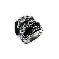 Ring Chinese Lion for men