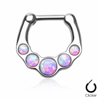 Septum-Clip Ring Opal-Optik